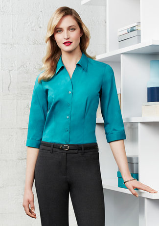 LADIES MONACO 3/4 SLEEVE SHIRT   S770LT