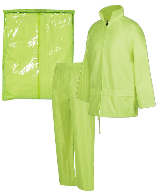 3BRJ - BAGGED RAIN JACKET/PANT SET