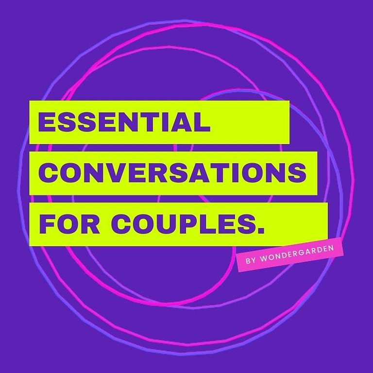 Webinar 1 - Essential Conversations
