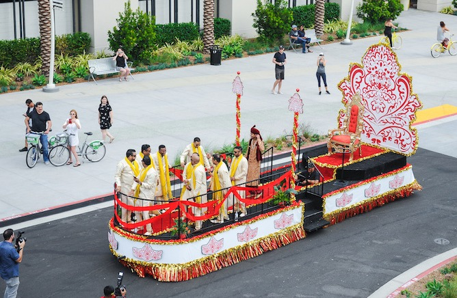 Baraat Wedding Float