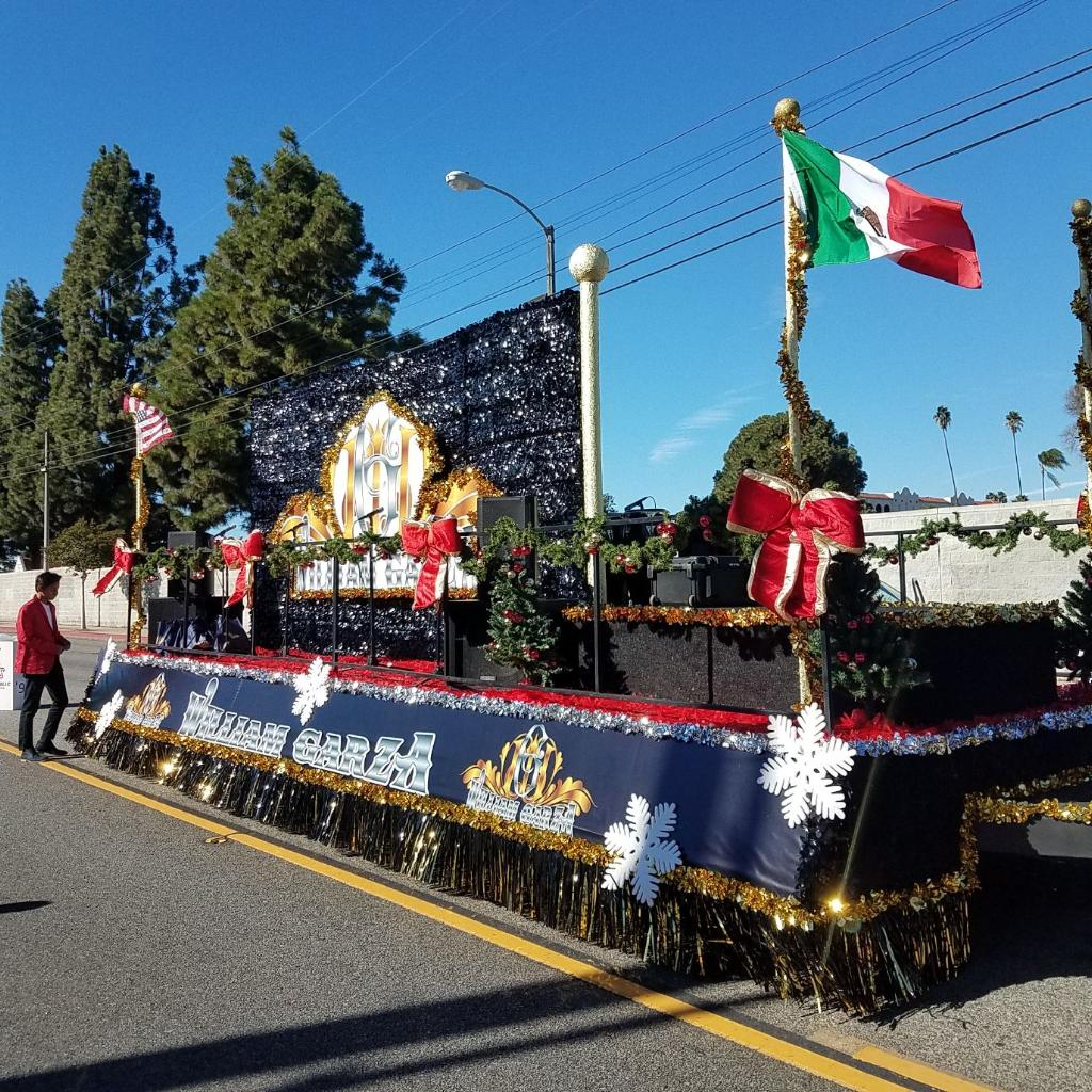 William Garza's Holiday Parade Float