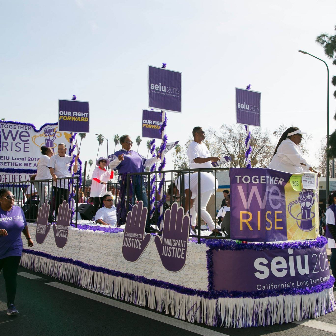 SEIU2015 -  MLK Jr. Parade