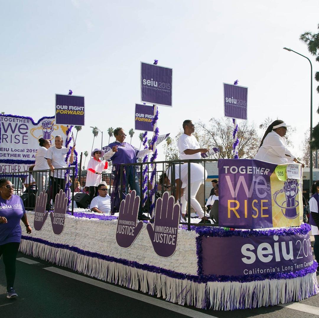 SEIU2015 -  MLK Jr. Parade