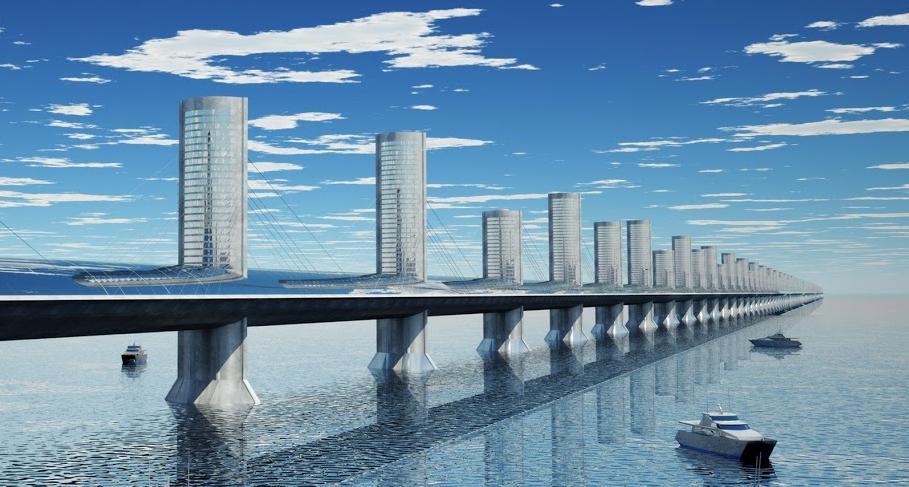 City bridge - Bering