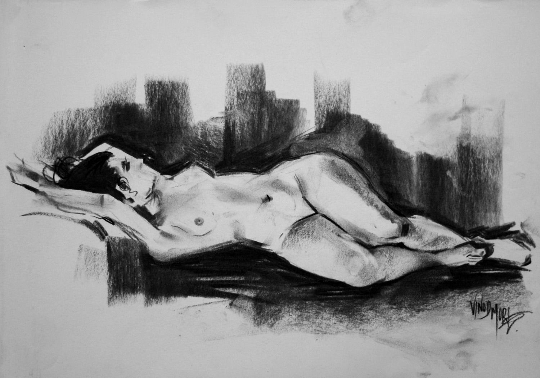 Figure Study_Charcoal_003
