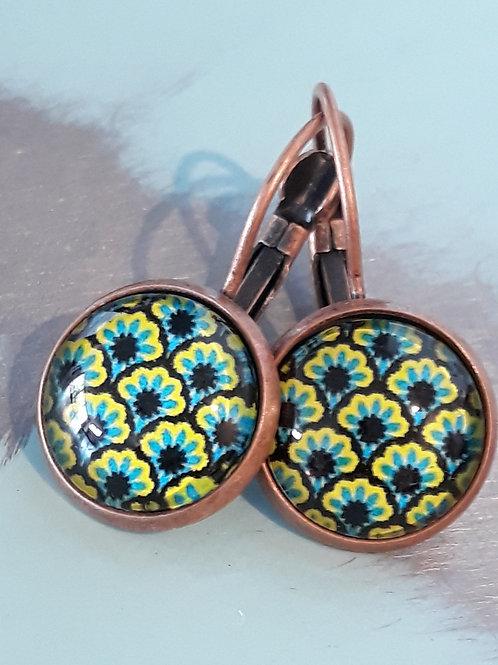 Retro ear rings