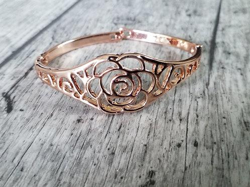 Vintage rose gold bracelet