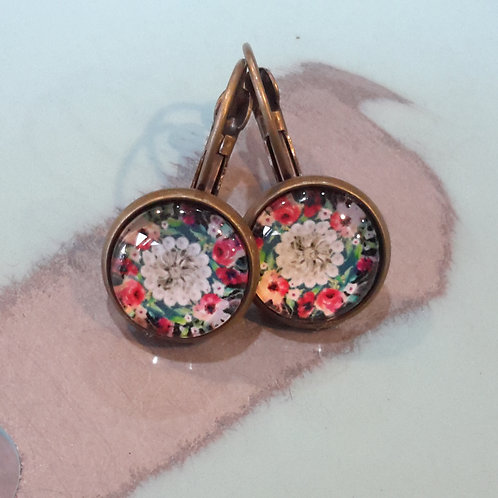 Flower power ear rings