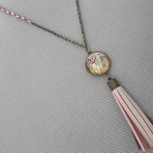 Vintage bike pendant