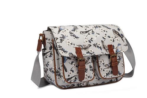Oilcloth bird bag