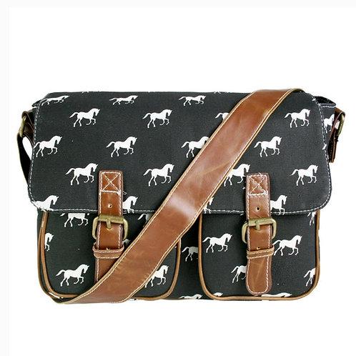 Canvas horse bag