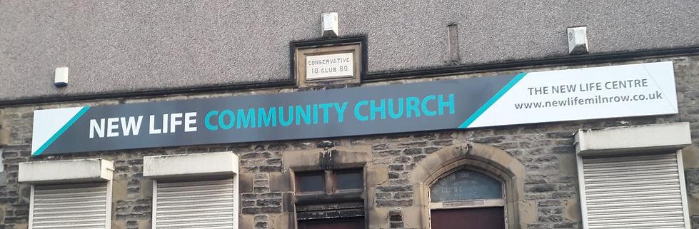 New LIfe Community Church Milnrow