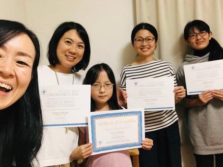埼玉でアクセスバーズ講座でした