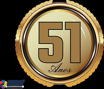 Logo 51 Anos PREMOL - Com Logo Grupo Cun