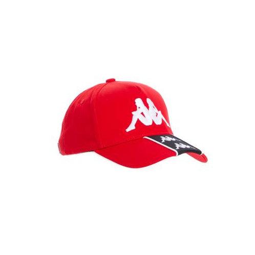 222 Banda Baset Red White Cap
