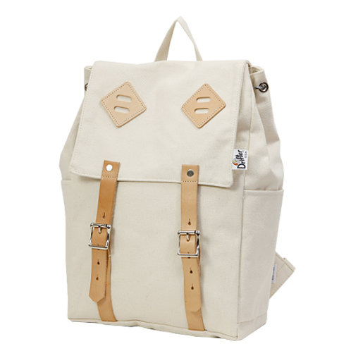 CANVAS BACK PACK - NATURAL