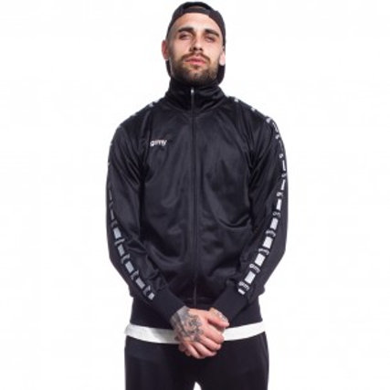 THE LUCY PEARL GRIMEY TRACK JACKET FW17 black
