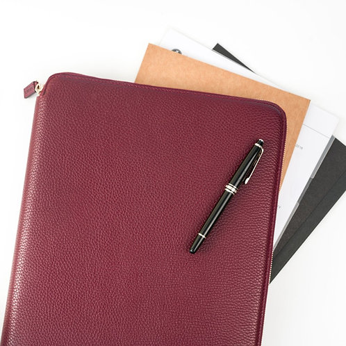 Maverick & Co. BURGUNDY AUGUSTUS PORTFOLIO