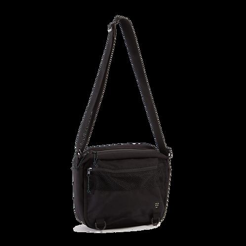 PACK N GO SMALL MESSENGER BAG - BLACK