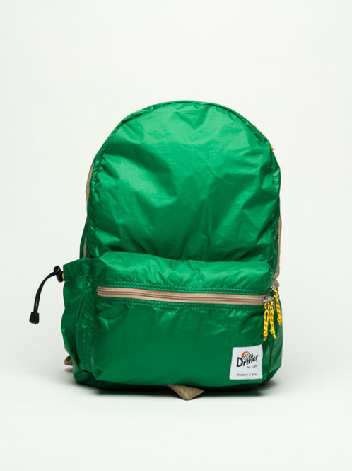 FLY PACK (Parachute material) - Green/Jute