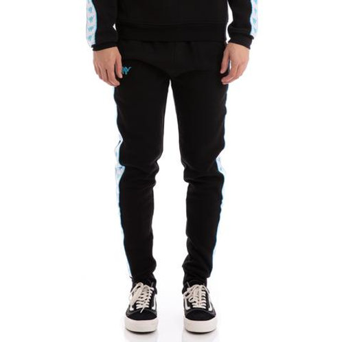 Authentic Butspad Up & Down Black White Turquoise Sweatpants