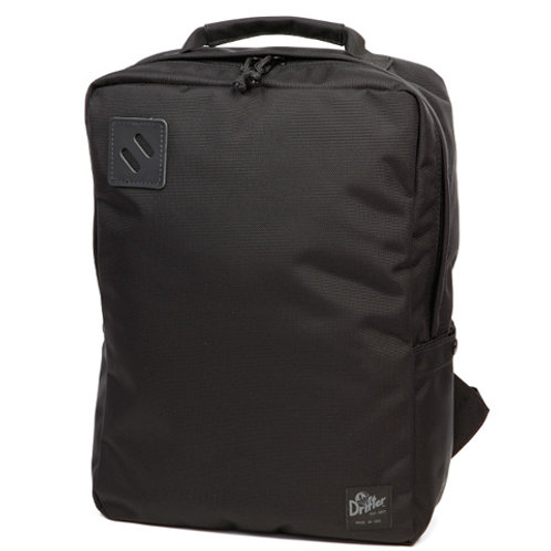 SQUARE PACK - BLACK X BLACK LEATHER -CITY LINE