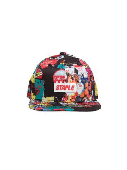 Coke Collage Snapback