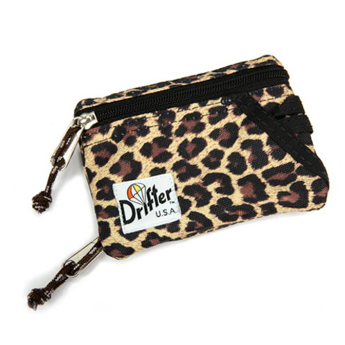 KEY COIN POUCH - LEAOPARD