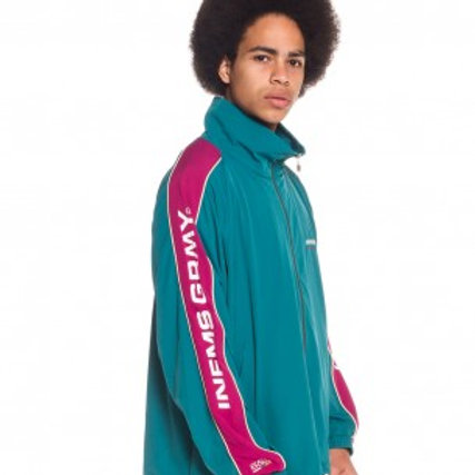 GRIMEY COUNTERBLOW TRACK JACKET FW17 GREEN
