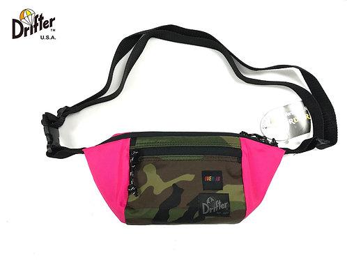 Overlab x Drifter - Urban Pouch - Hot Pink x Camo