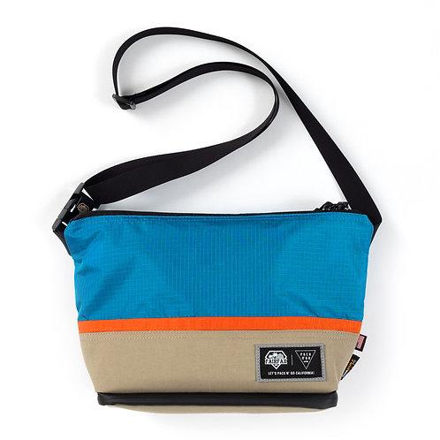 Fairfax X Pack N Go Bike Pouch (SKY BLUE x MANDRIN x CAVE)