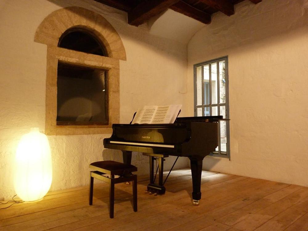 Piano de l'Hôtel Magnol