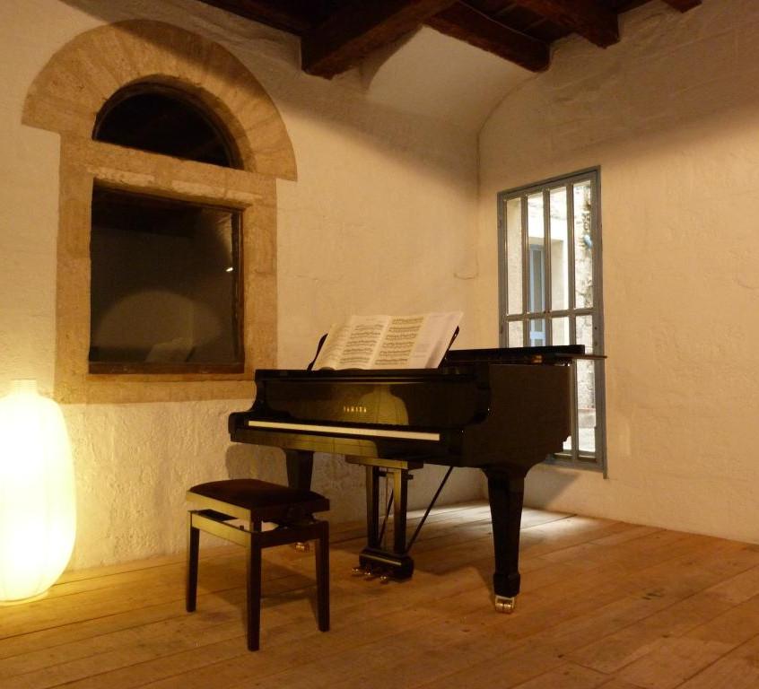 Le piano de l'Hôtel Magnol