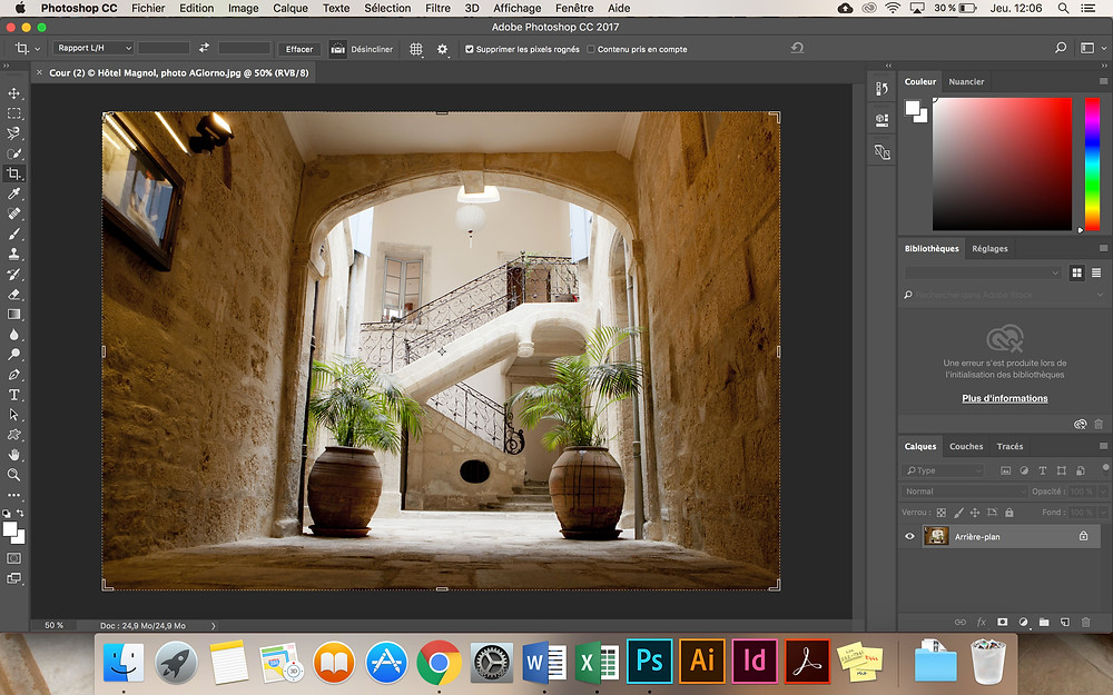 Formation Photoshop © blog LucieCW