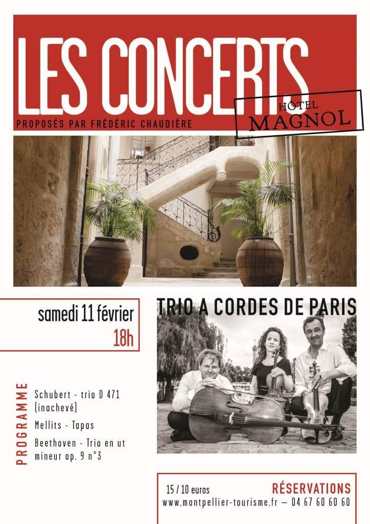 Affiche Trio à Cordes de Paris