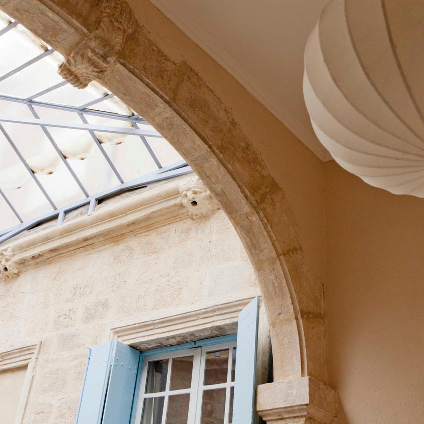 Cour Intérieure - Inner courtyard