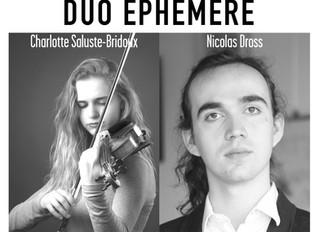 02.02.19 REPORTE | Charlotte Saluste-Bridoux et Nicolas Dross | Les Concerts de Magnol