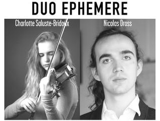 28.10.17 | Duo Ephémère | Les Concerts de Magnol
