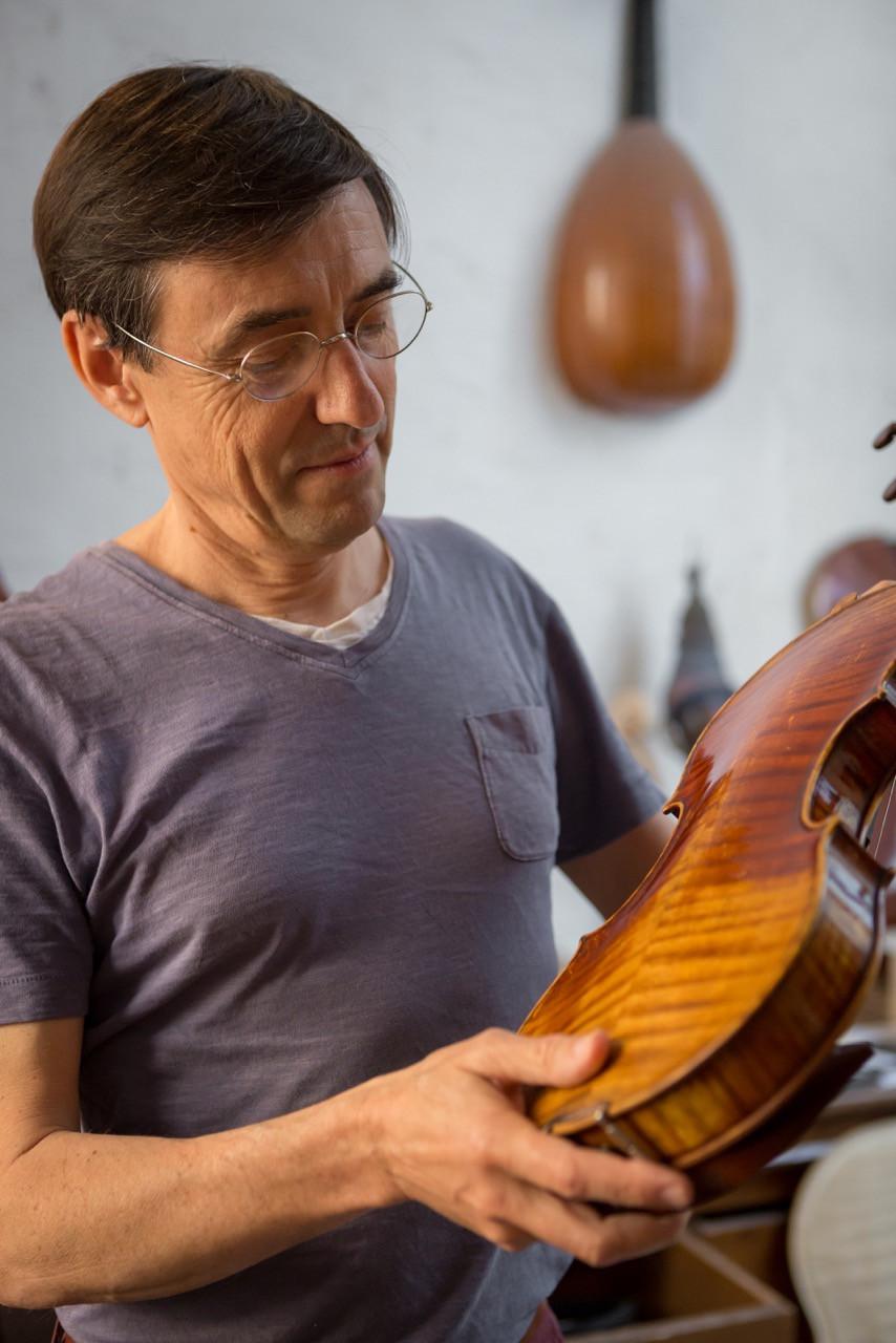 Frédéric Chaudière, le luthier de l'Hôtel Magnol
