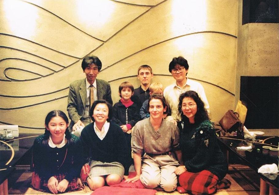 1992, voyage au Japon