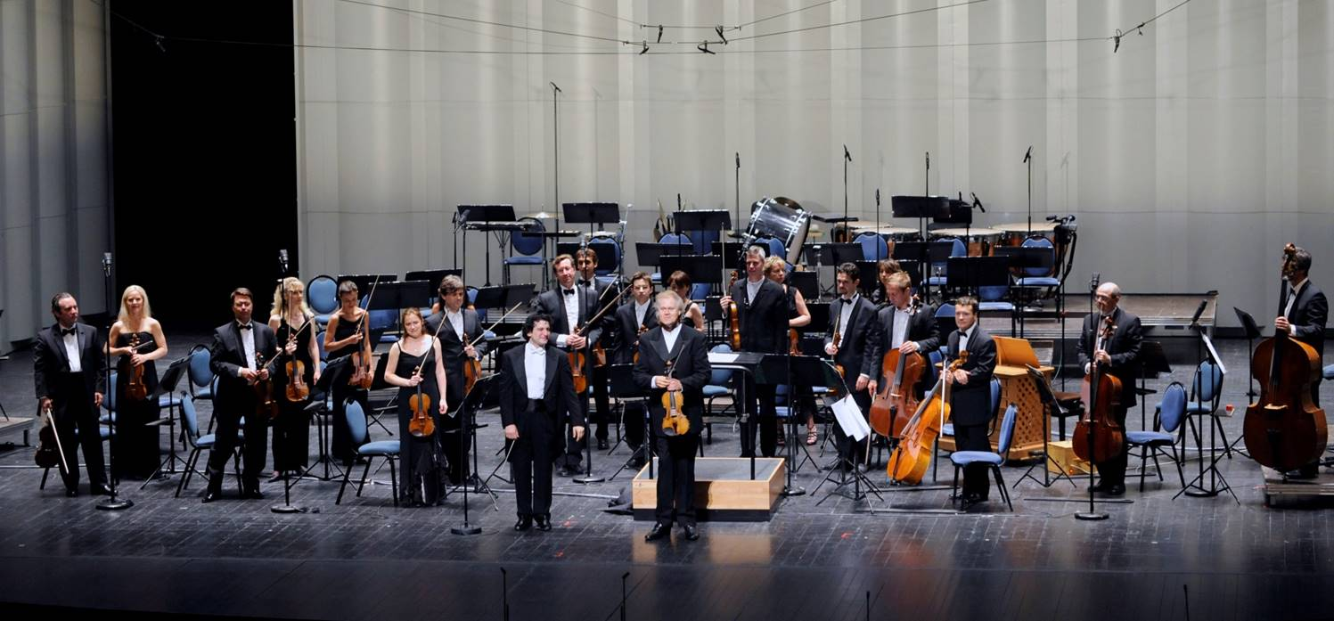 2008, l'orchestre de Stradivarius