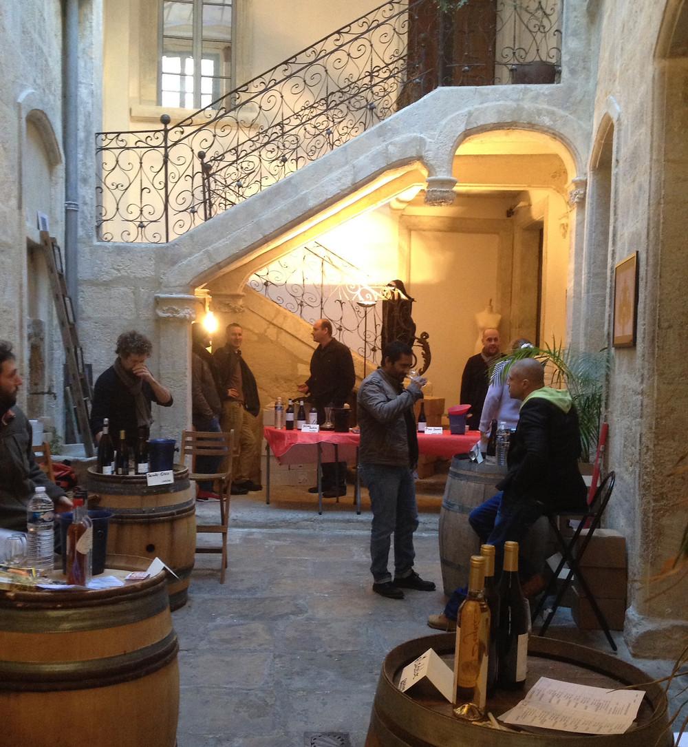 Des vignerons à l'Hôtel Magnol Montpellier