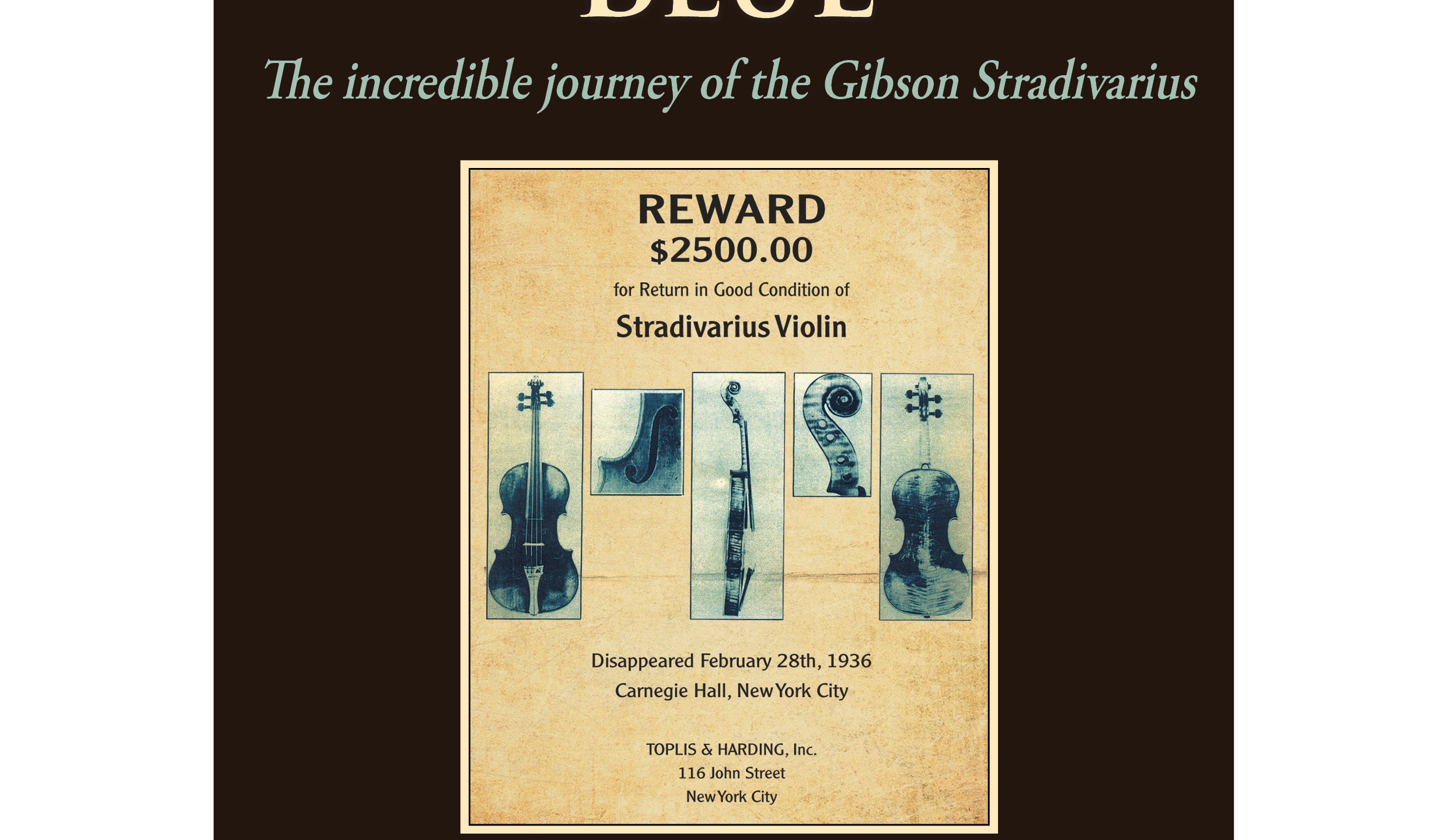 A Strad Out Of The Blue