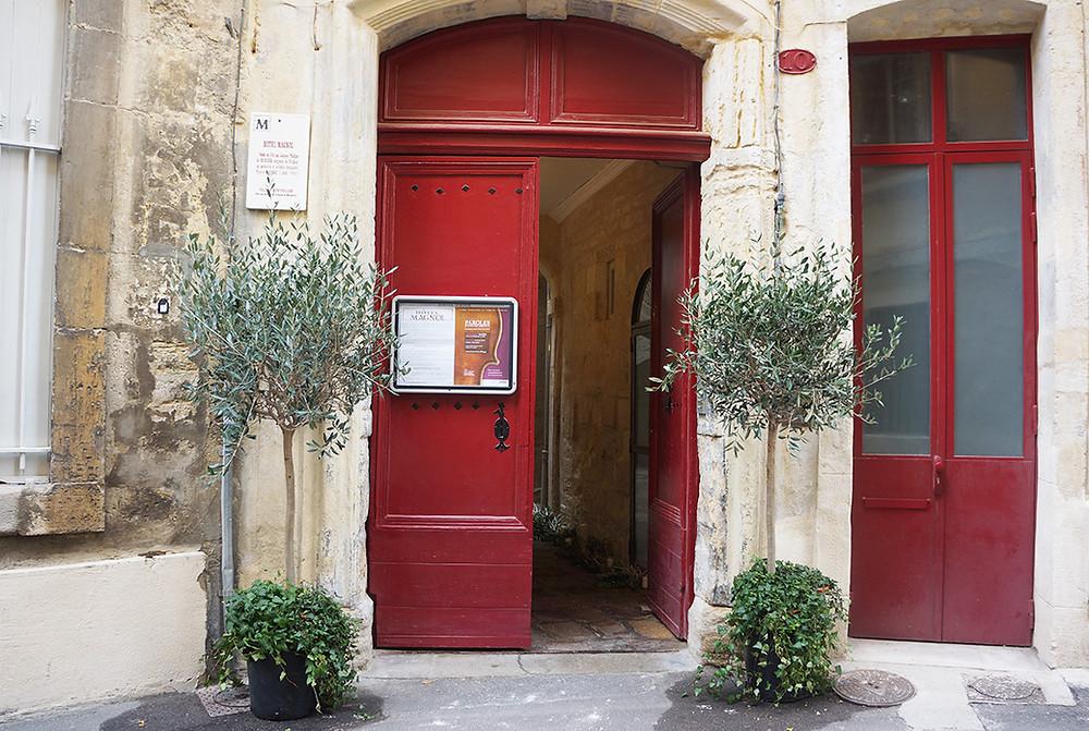 Façade de l'Hôtel Magnol