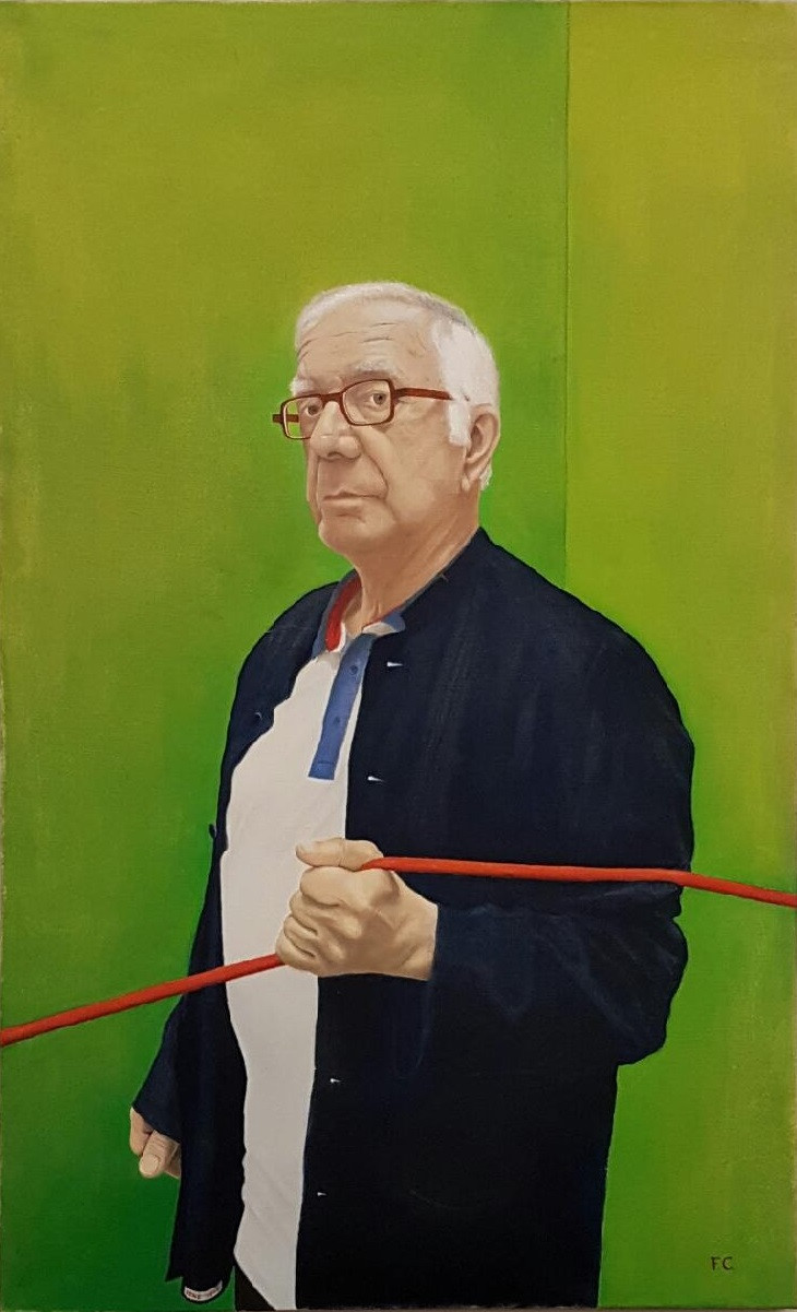 """Portrait de René, série """"Cordes"""" de Frédéric Chaudière"""
