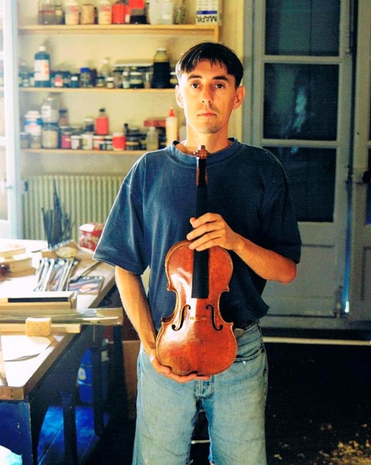 Avec le Stradivarius Gibson 1713