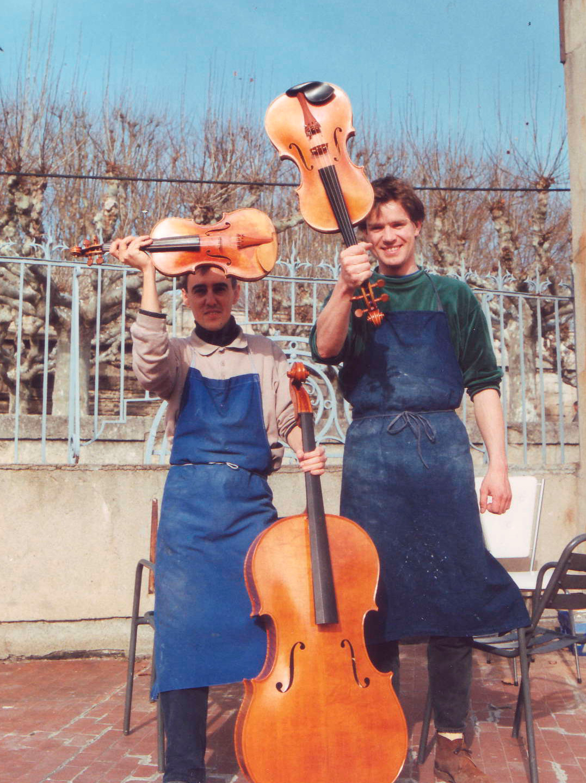 L'équipe de l'atelier 1992