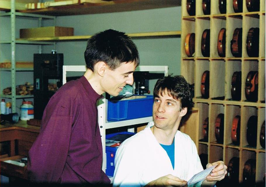 Frédéric et son ami Per Ovesen
