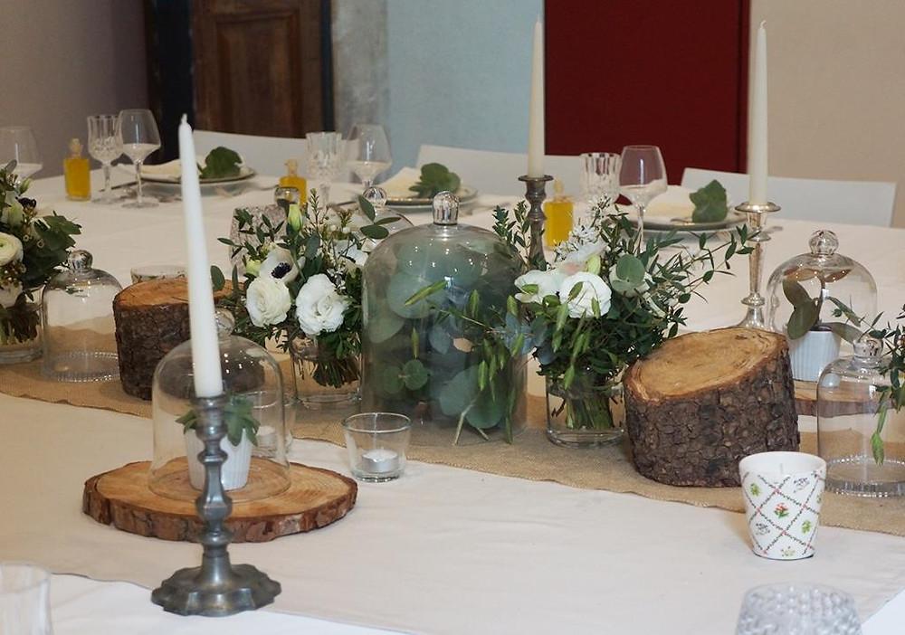 Table de dîner de prestige à l'Hôtel Magnol (c) La Fabrique à Jour J