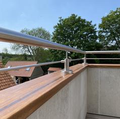 Stainless Steel Balcony Handrail